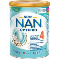 Lapte pentru copii de varsta mica Nestlé NAN OPTIPRO 4, de la 2 ani, 400g