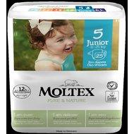 Scutece No. 5 JUNIOR, 25 bucăţi, 11 – 25kg, MOLTEX