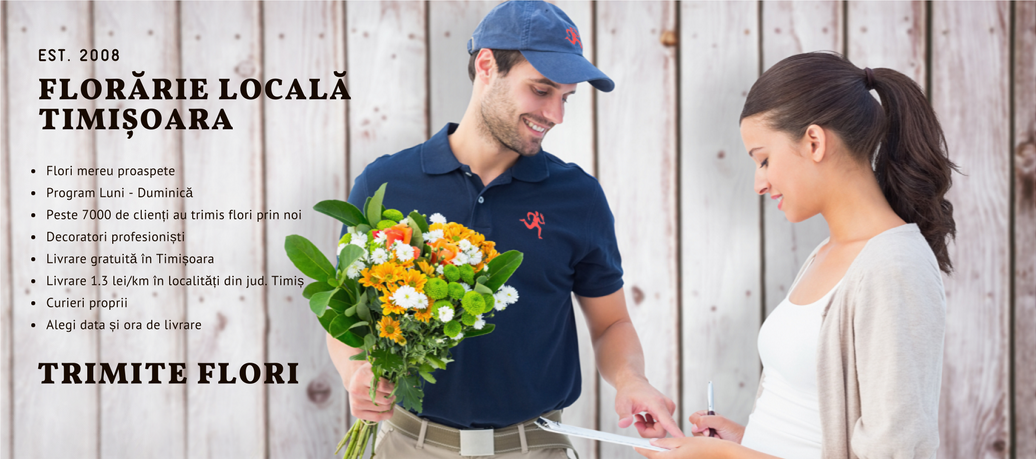 Livrare flori si cadouri Timisoara