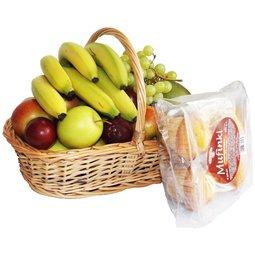 Cos cu fructe si briose