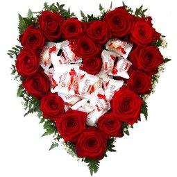 Inima cu trandafiri si Raffaello