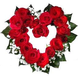 Inimioara de trandafiri