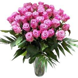 Buchet de trandafiri mov (39)