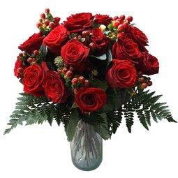 Trandafiri si hypericum