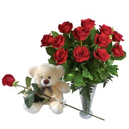 Ursulet cu trandafir