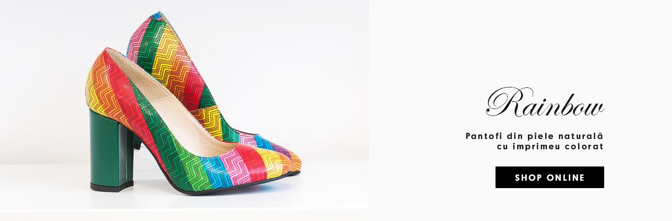 Pantofi Rainbow
