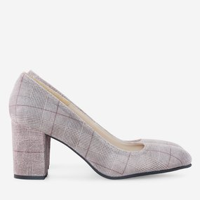 Pantofi dama din piele naturala imprimata Katia