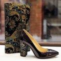 Pantofi din piele naturala mov Christie