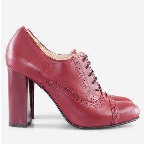 Pantofi oxford cu toc Avalon