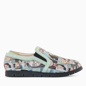 Pantofi sport din piele naturala Cierra