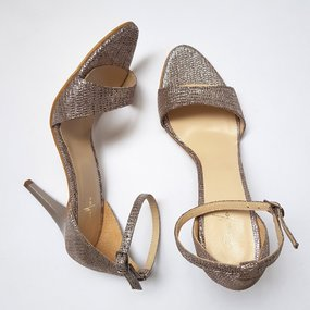 Sandale din piele naturala cappuccino Laura