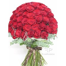 101 Red Roses | Valentine's Day Flowers | Milan Flower delivery