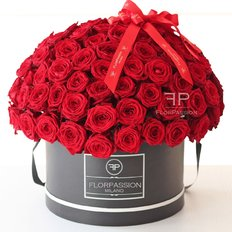 Red Roses Box Million Flowers | Million Roses FlorPassion