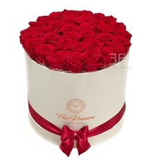 Preserved Red Roses Box | Million Roses | FlorPassion Milan