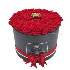 Rose Rosse Stabilizzate in Scatola | Profumo Lady Million