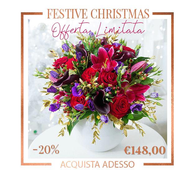 Festive Christmas Fiori Online Natale Milano FlorP