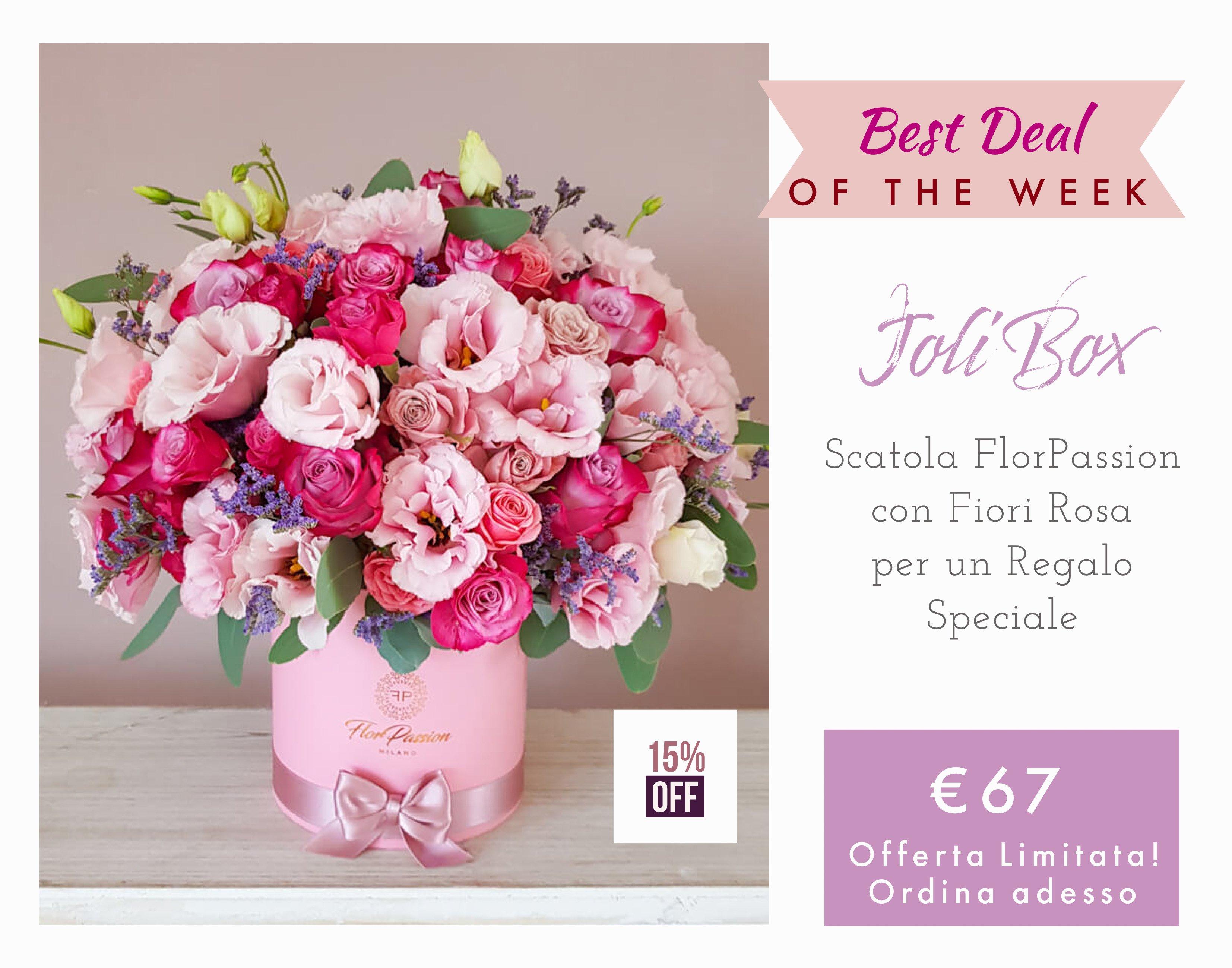 Joli Flower Box FlorPassion Milano