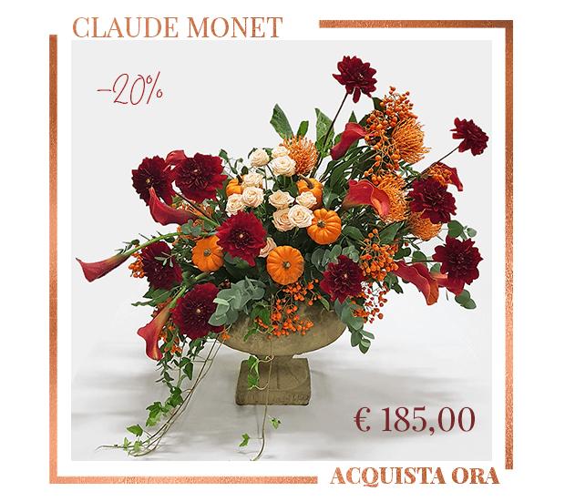 Claude Monet Composizione Fiori Autunno