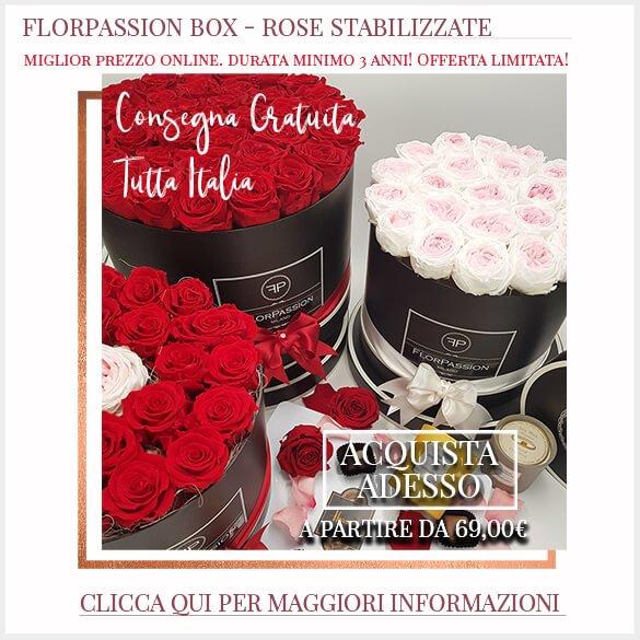 Rose Stabilizzate Consegna Gratuita tutta Italia