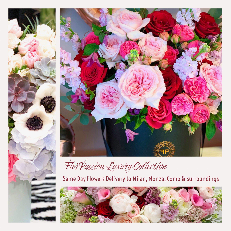 Luxury Flowers Delivery Milan Monza Como FlorPassi