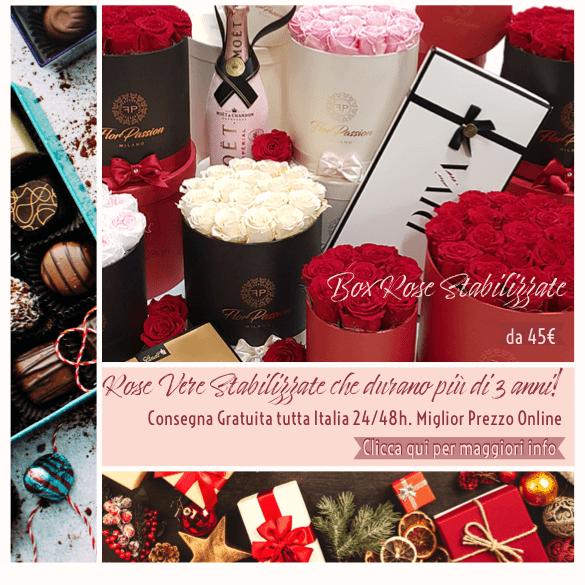 Spedizione Gratuita Box Rose Stabilizzate FlorPass