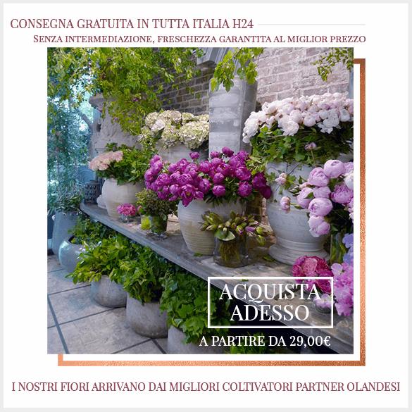 Consegna Gratuita Fiori tutta Italia