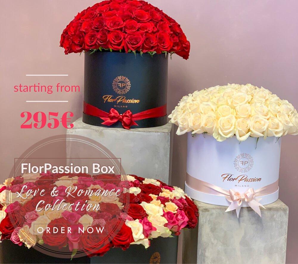 Send Love Romance Flowers to Milan