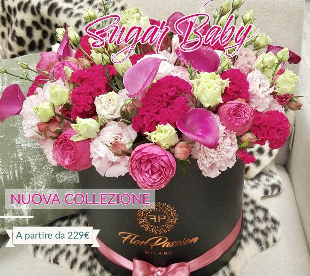 Consegna Box Fiori Million Roses Milano