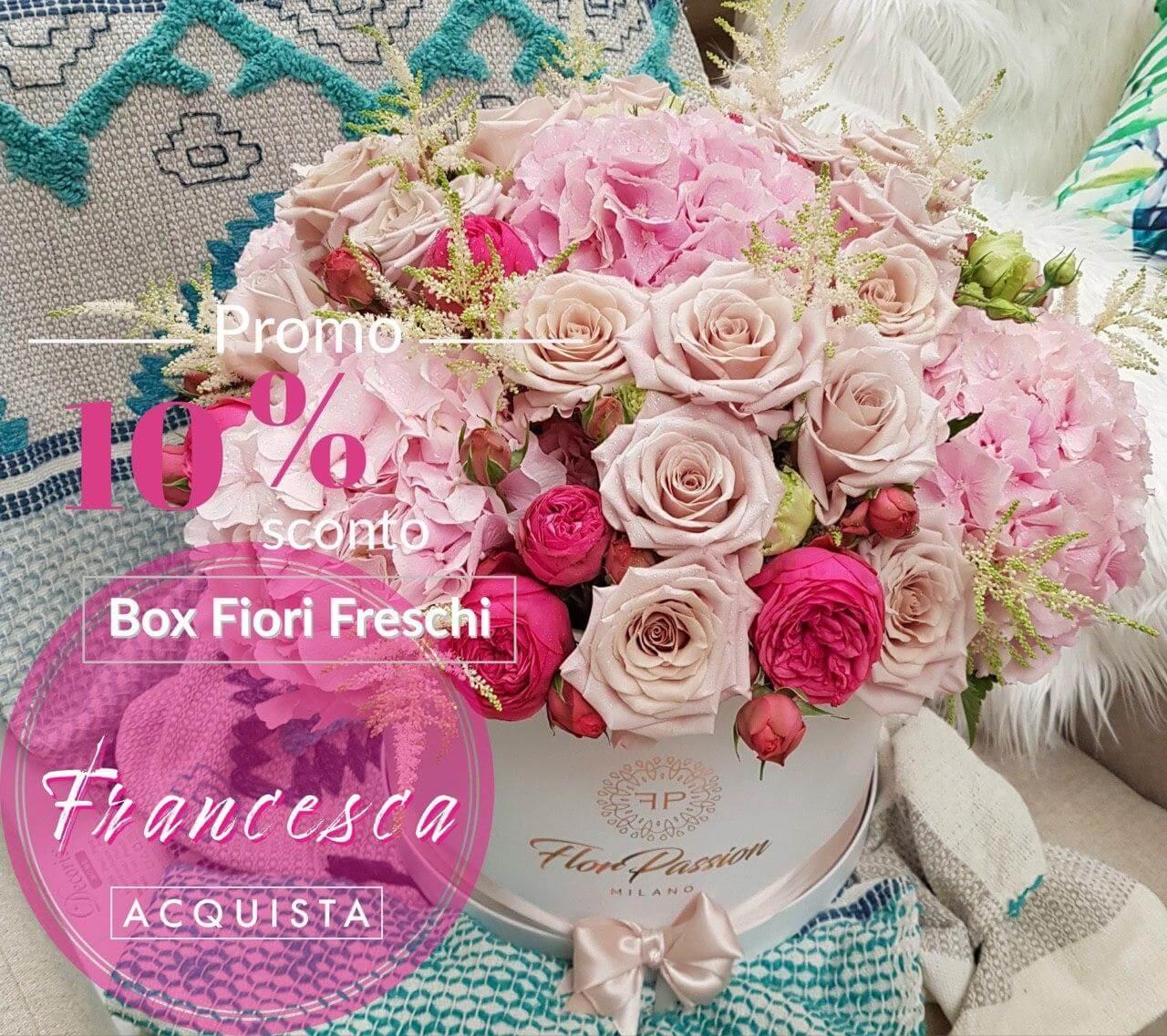 Scatola Fiori Milano Fiorista FlorPassion