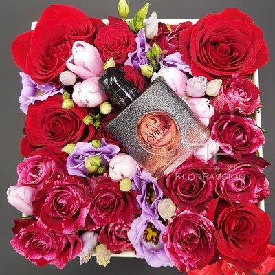 Black Opium Floral Box