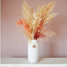 Dried Flower Bouquet Pampas Grass Romantic Gift | FlorPassion Milano