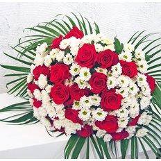 Bouquet Margherite e Rose