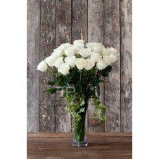 Bouquet Rose Bianche | Consegna a Domicilio