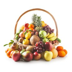 Cestino Frutta Esotica Consegna a Domicilio | Fiori Frutta e Regali a casa tua con FlorPassion