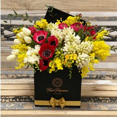 Flower Delivery Milan | Womens Day | Luxury Flower Box