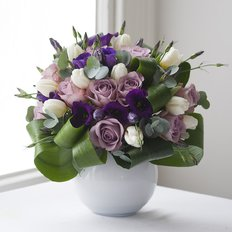 Birthday Flowers | Lilac Bouquet | Milan Monza Local Florist