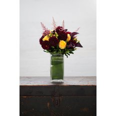 Dark Brown Flowers Arrangement | Flowers Delivery Milan | Local Florist