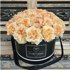 Scatola Rose Inglesi | Rose Esclusive da Vip Roses | FlorPassion