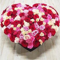 Cuore Rose San Valentino | Rose Multicolore