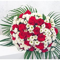 Daisies and Roses Bouquet