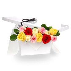 Box Rose San Valentino | Invio Fiori Milano | Fiorista FlorPassion