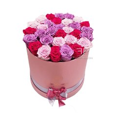 Scatola Rose Stabilizzate FlorPassion | Million Roses Box Milano