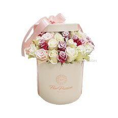 Scatola Rose Vip Roses | Fiori Natale | Fiorista Milano FlorPassion