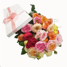 Garden Roses Gift Box | Exclusive Collection from Vip Roses