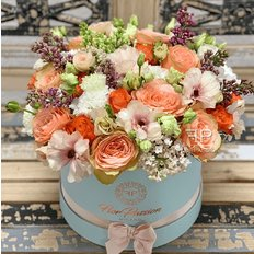 Bloom Box FlorPassion Best Florist Milan | Send Flowers Italy