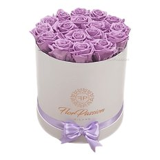 Rose Stabilizzate | Scatola Rose Lilla | Million Roses | FlorPassion Milano
