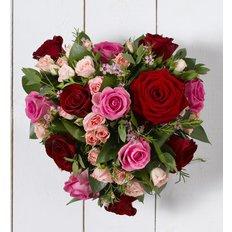 Cuore Rose San Valentino | Spedire Fiori Milano | FlorPassion