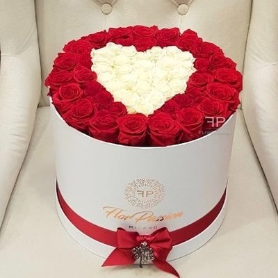 Love Heart FlorPassion Forever Box