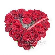 Cuore Rose Rosse | Fiori San Valentino | Fiorista Milano