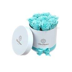 Box Rose Tiffany | Fiorista Milano | Consegna Fiori in Giornata FlorPassion